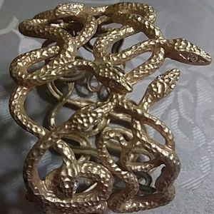 Matte gold color bracelet